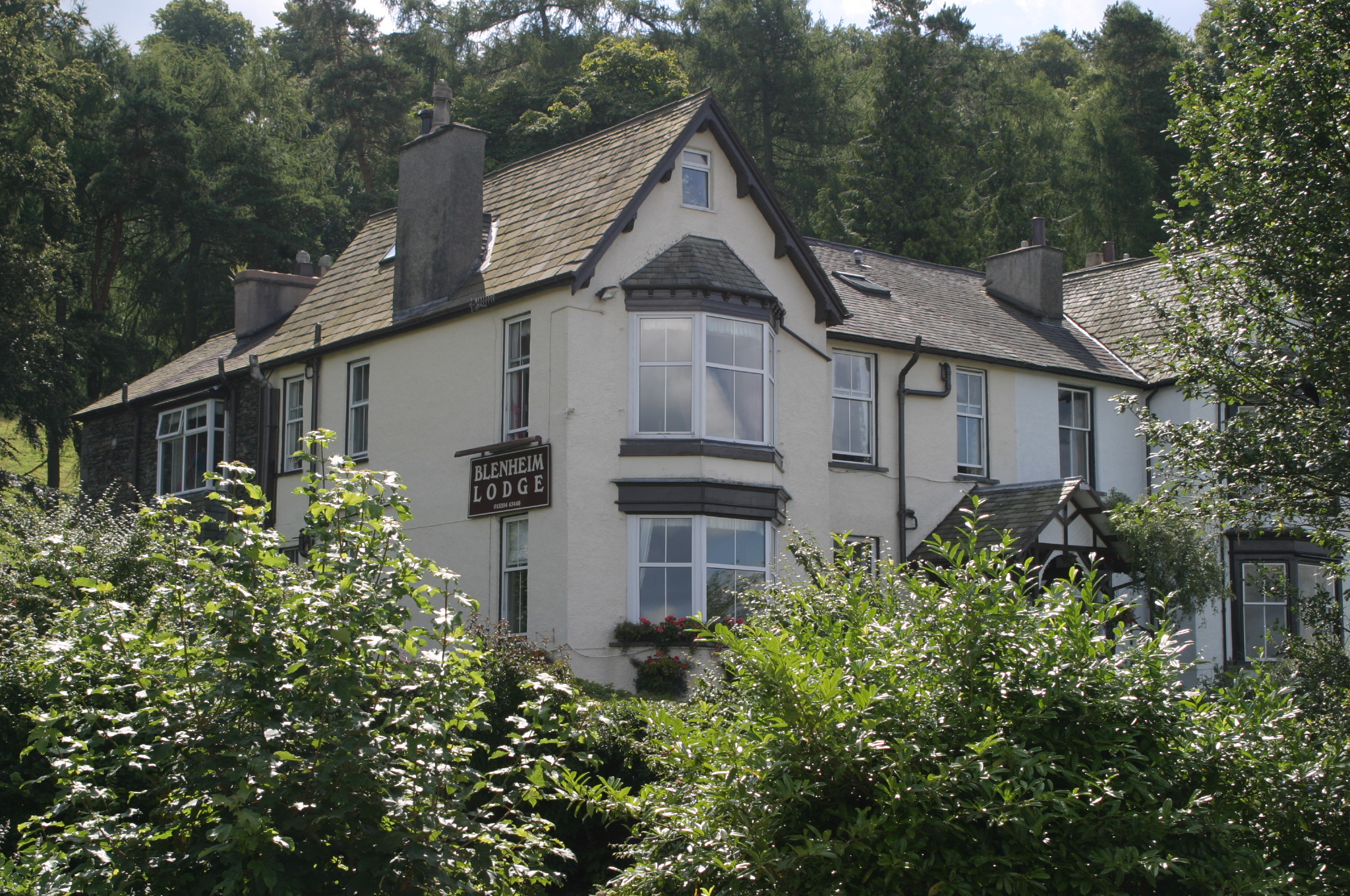 Blenheim Lodge, a beautifully refurbished guesthouse in Windermere.