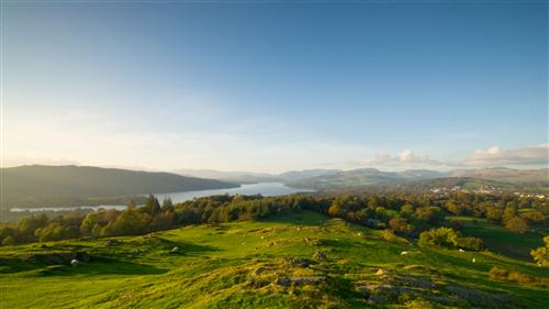 brantfell, bowness on windermere, lake district