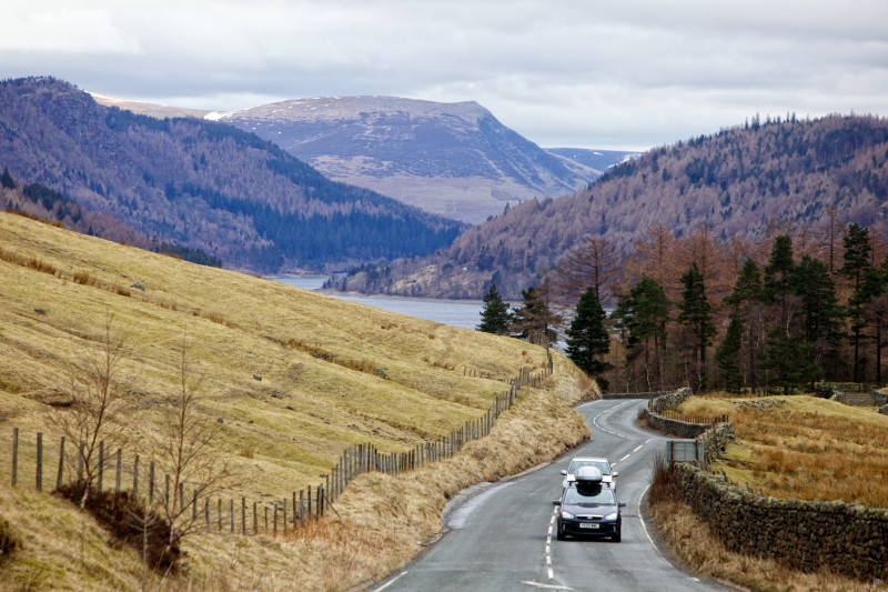 This is just a small part of the beautiful road that we drove to Keswick from Bowness-on-Windermere, with surrounding mountains, green fells and sparkling lakes to admire! (Photo courtesy of www.cumbriaphoto.co.uk.)