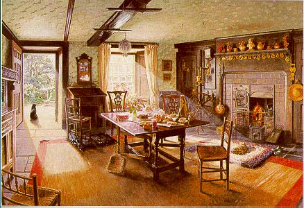 'Teatime at Hill Top' by Stephen Darbishire. (Photo courtesy of http://visitcumbria.com/amb/hill-top.htm.)