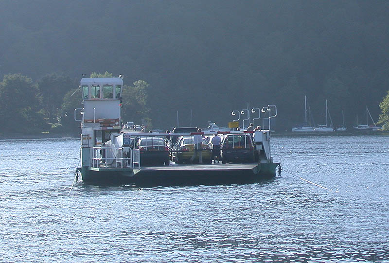 Bpwness-on-Windermere Car Ferry: photo courtesy of http://www.visitcumbria.com/amb/bowness-ferry.htm.