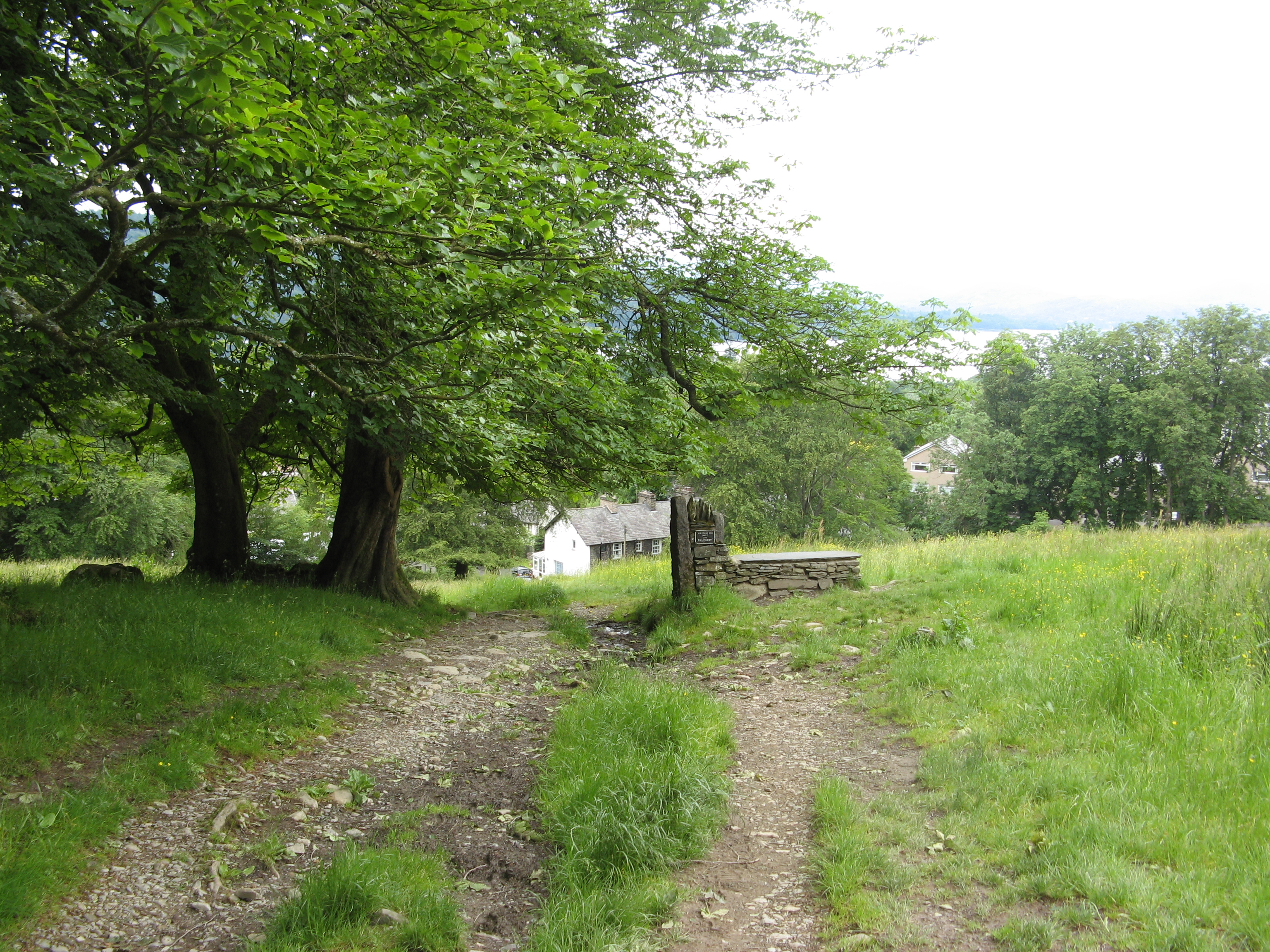 dales way, bowness on windermere, lake district