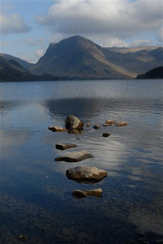 Buttermere Lake. (Photo by Andrew Lugsen courtesy of www.cumbriaphoto.co.uk.)