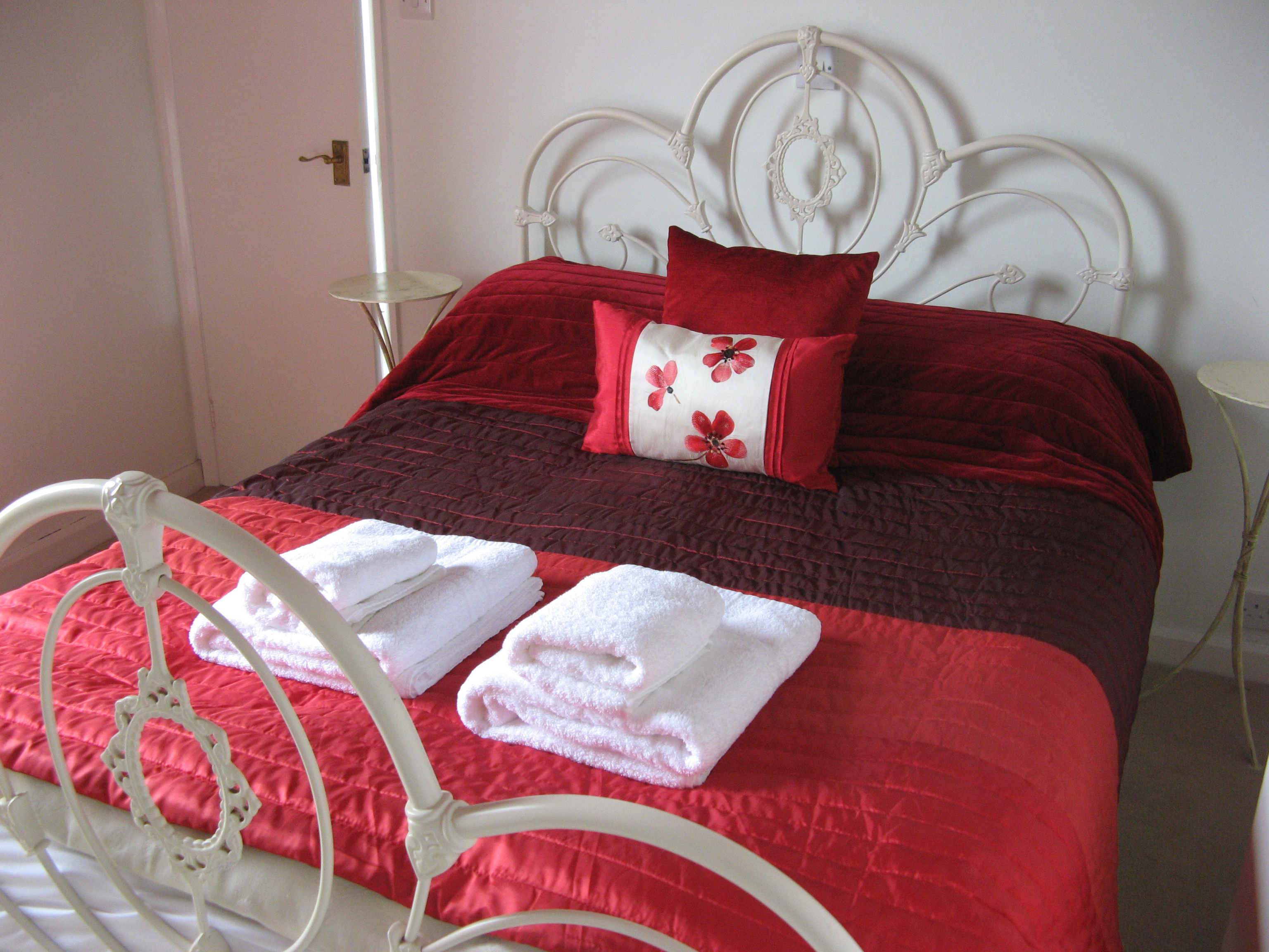 bedroom at blenheim lodge, bowness on windermere, lake district