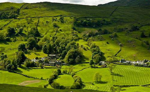 troutbeck valley lake district