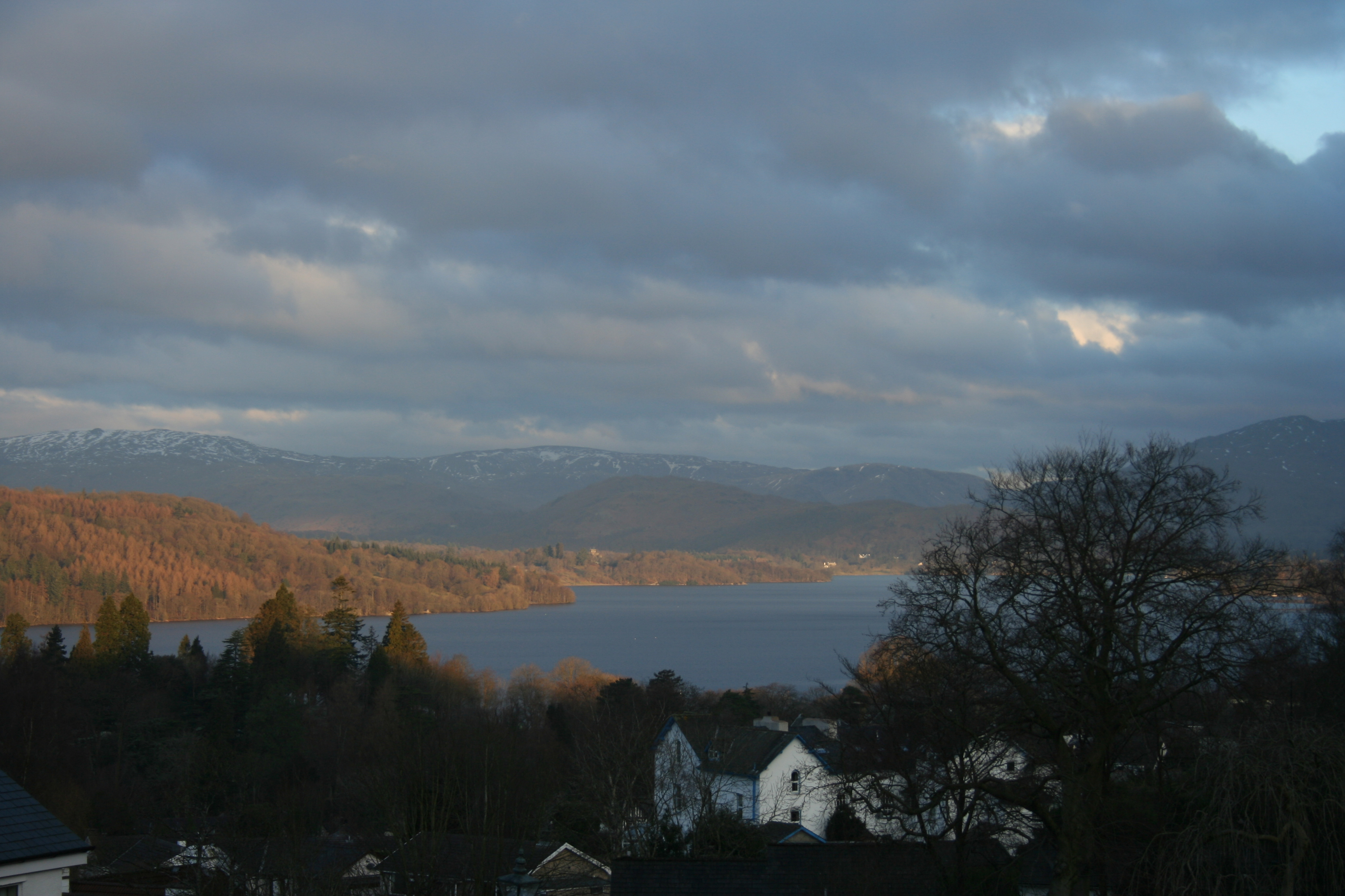 lake windermere view