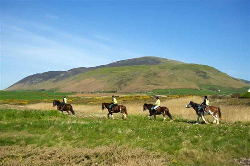 black combe, silecroft, horseriding, lake district