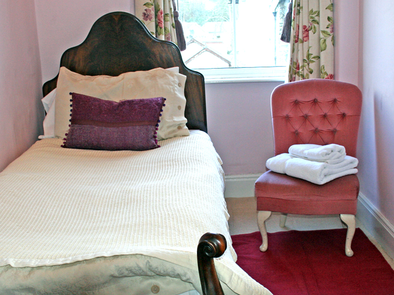 brantfell room, blenheim lodge, lake district