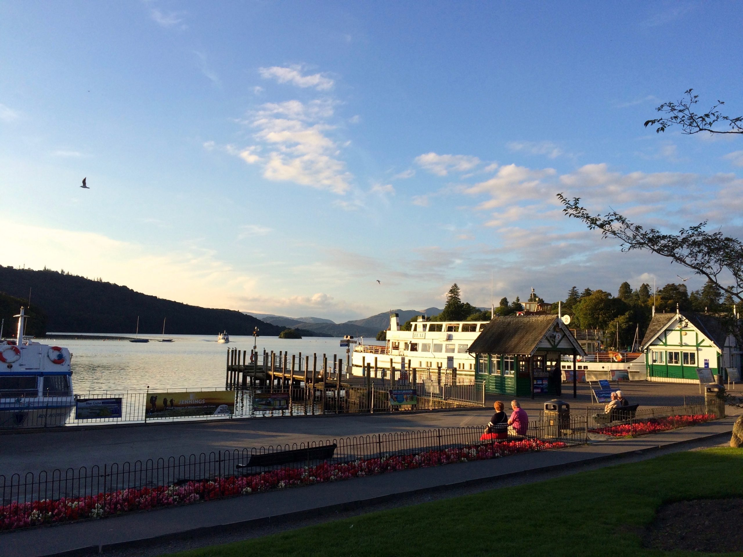 Two couples at Bowness Bay