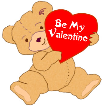 'Be my Valentine' courtesy of www.goodlightscraps.com/teddy-4.php.
