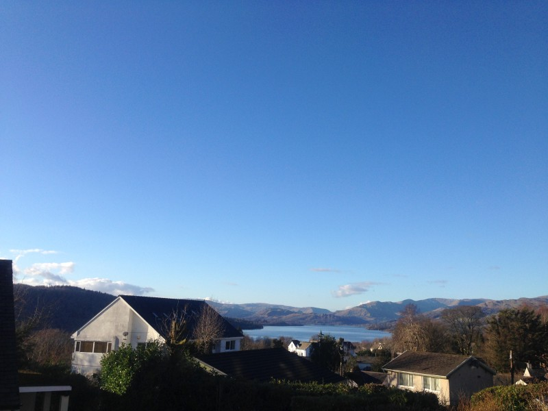 Enjoy this view with us at Blenheim Lodge. This photo was taken yesterday from our Lake District Bed and Breakfast.