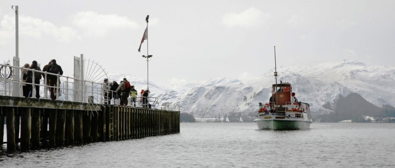 ''Cruise into the new year and indulge in dramatic Ullswater-winter scenery.' Photo courtesy of http://www.cumbriacrack.com/2011/12/19/cruise-into-the-new-year-and-indulge-in-dramatic-ullswater-winter-scenery'.