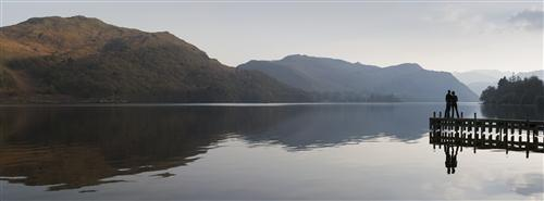 A romantic interlude surrounded by the beauty of the Lake District. (Photo by Tony West.