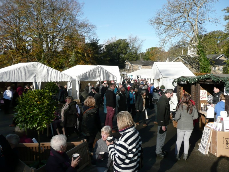 Holker Hall Winter Market is open on 7th and 8th November 2015. Why not make this part of your weekend outing to the Lakes? (Photo courtesy of www.holker.co.uk)