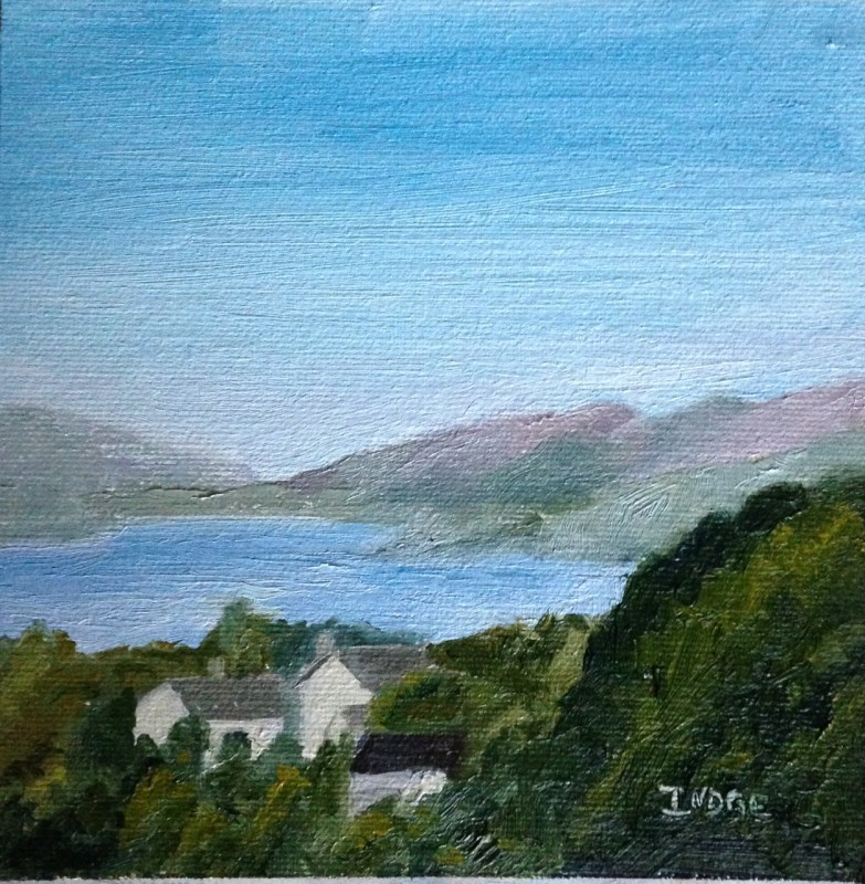 September view from The Langdale room, by Donna Indge. (September 2014)