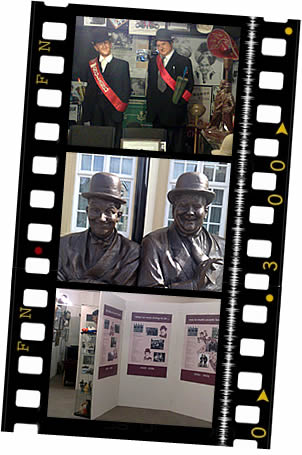 Laurel and Hardy Musuem, Ulverston, celebrates the lives of Stan Laurel and Oliver Hardy. (Image courtesy of www.laurel-and-hardy.co.uk/museum.html.)