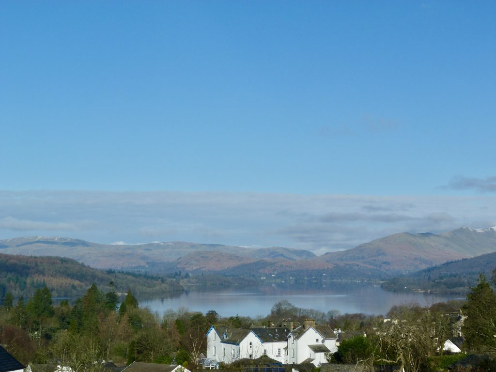 Lake Windermere View from Blenheim Lodge