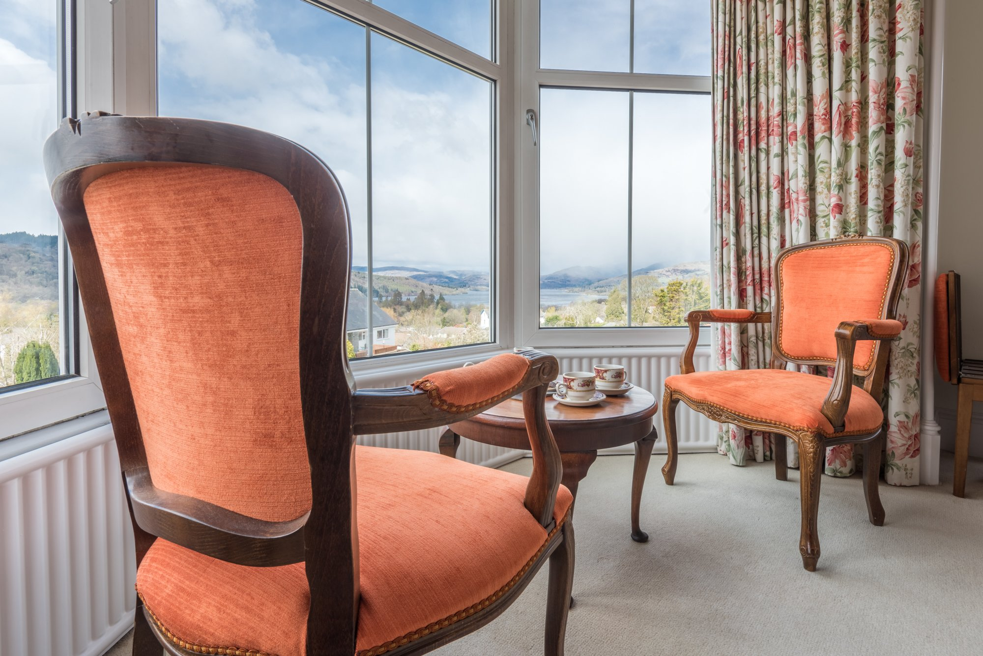 The Langdale Room with a View of Lake Windermere