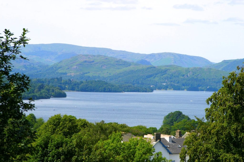 B&B with views in Bowness on Windermere