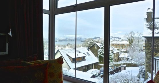 Snow in Bowness