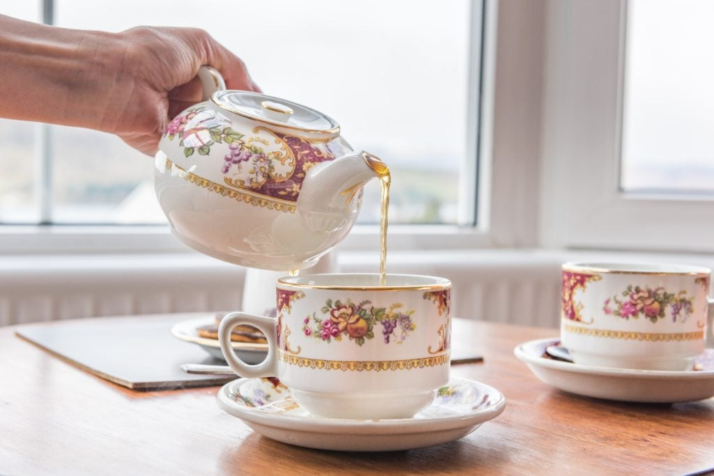 Spot of tea @ Blenheim Lodge | Bowness on Windermere | Cumbria Lake District