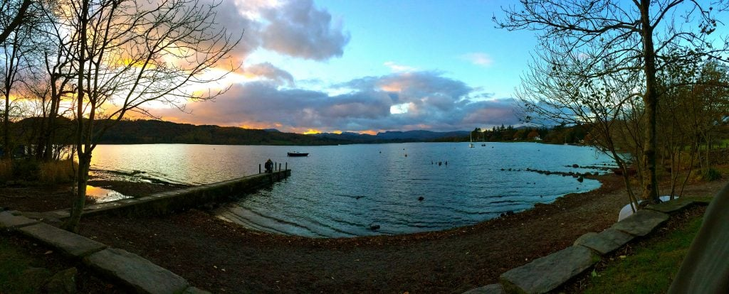Lake Windermere in Autumn