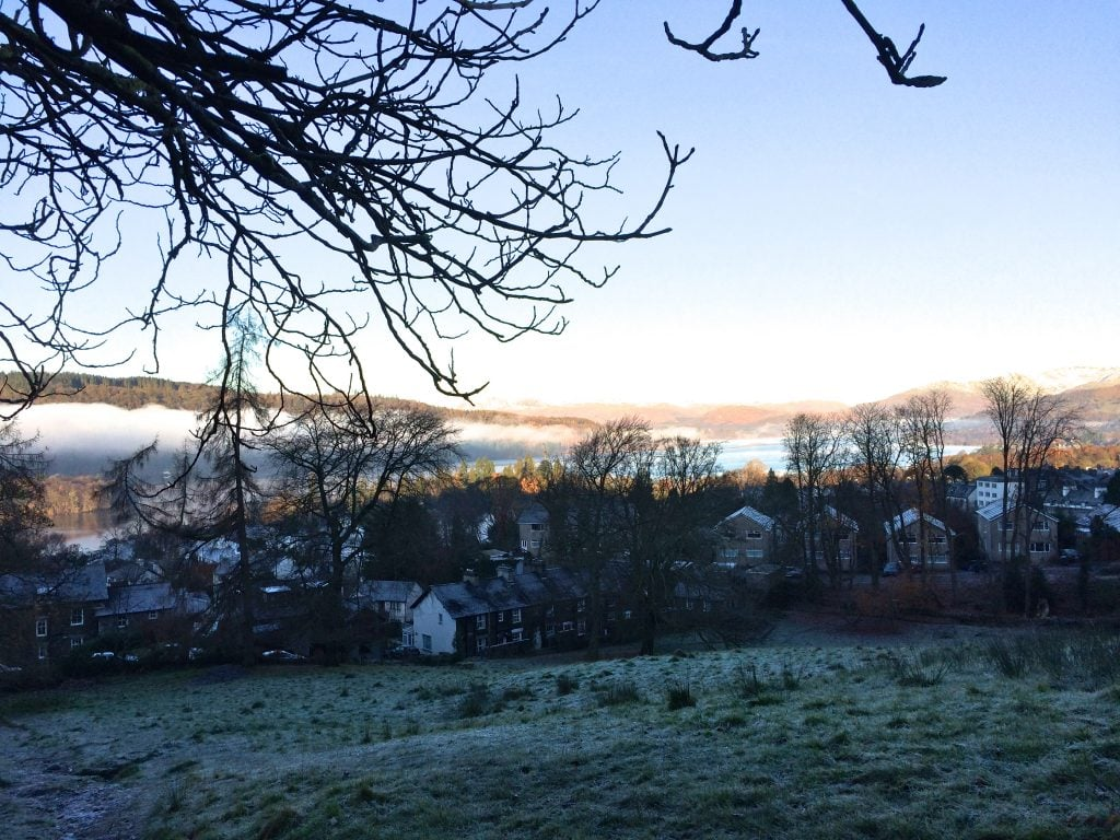 Frost morning on the Dalesway