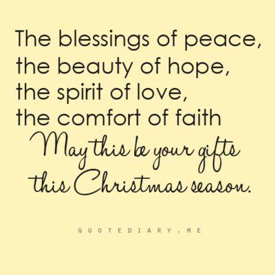 Gift of Christmas.