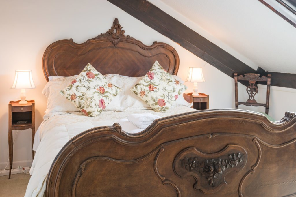 attic bedroom, blenheim lodge bowness on windermere bed and breakfast with views