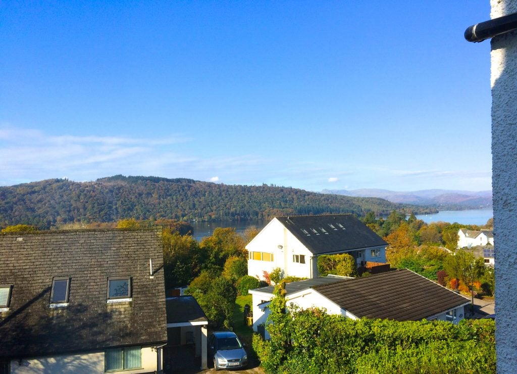 B&B with views of Lake Windermere