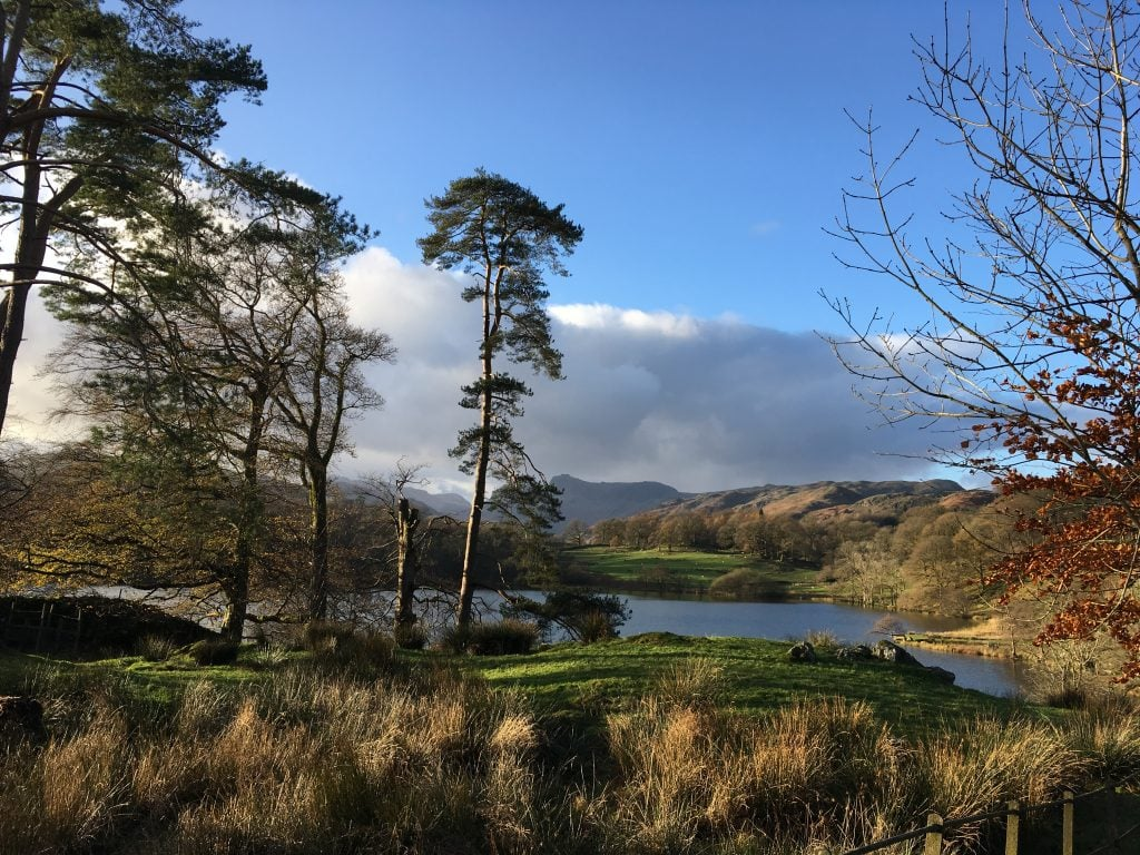 lake district, loughrigg tarn