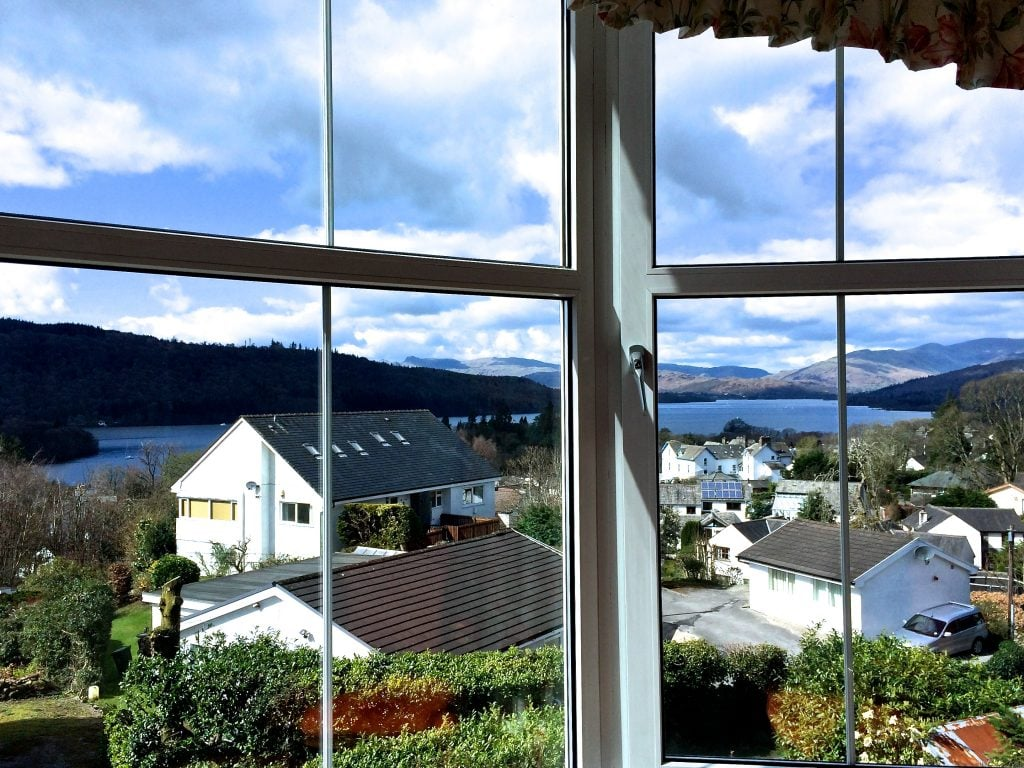 lake view room, blenheim lodge bed and breakfast, bowness on windermere