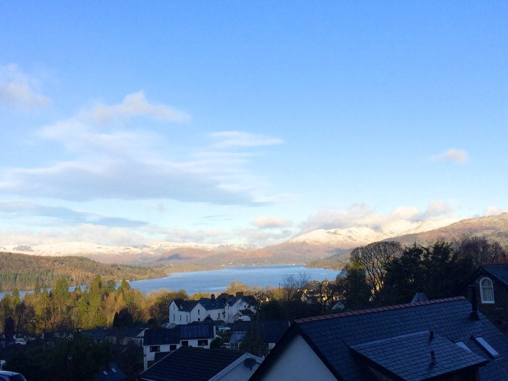 lake windermere views, bowness bed and breakfast lake view