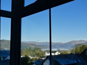 lake windermere view from bowness bed and breakfast