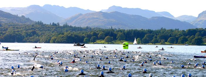 great north swim, windermere, lake windermere