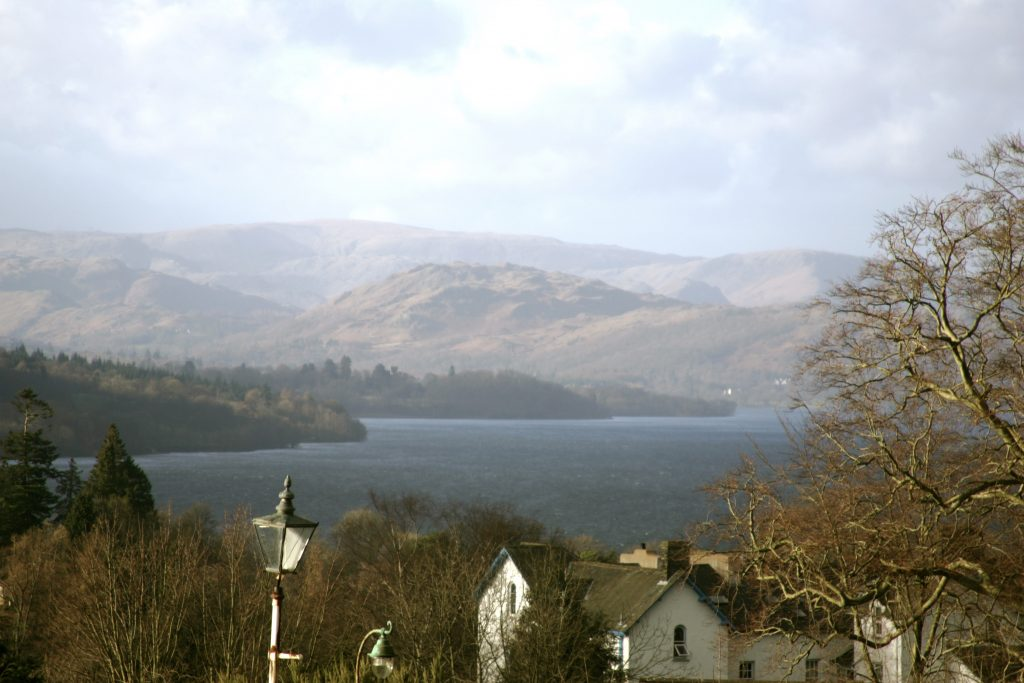 Blue Room Bedroom view of Lake Windermere