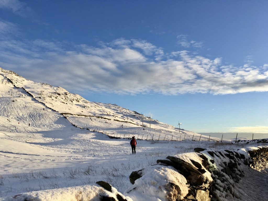 Walking at Kirkstone Pass