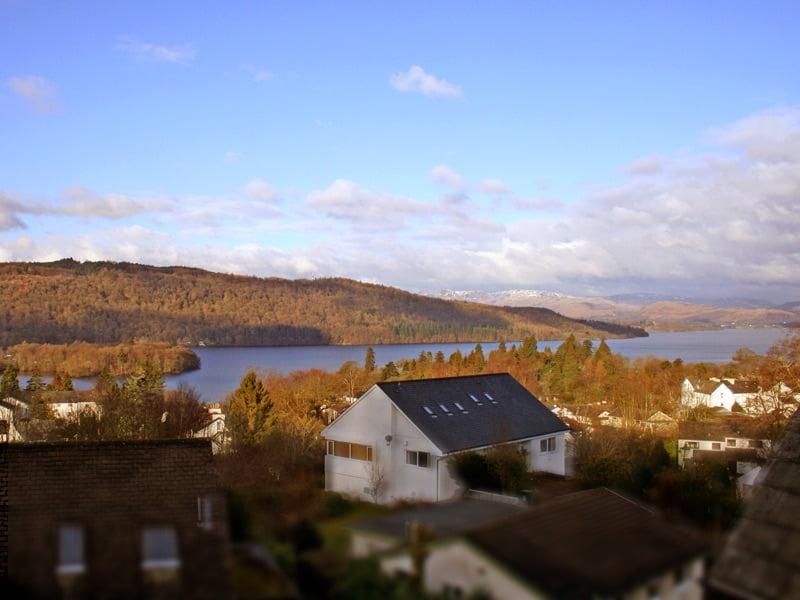lake Windermere view, blenheim lodge