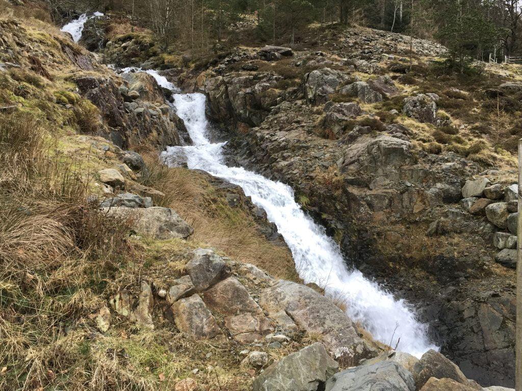 Waterfall at Wythburn, Thirlmere