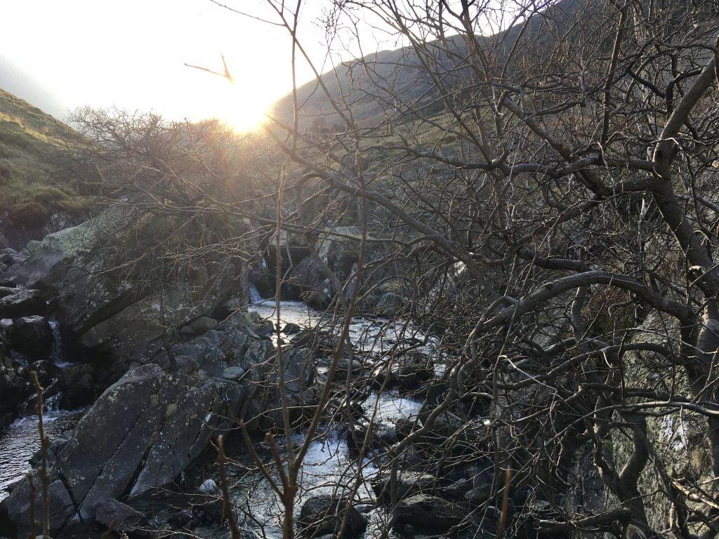 Riverbed at Greenside Mine