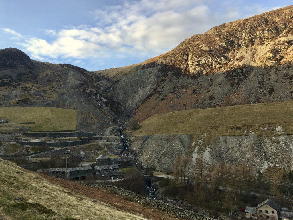 Mining Works and Village, Lake District
